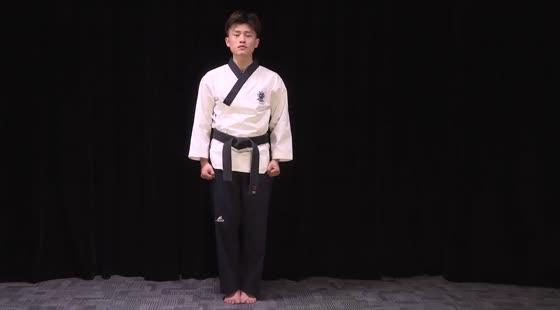 跆拳道课程——太极四章