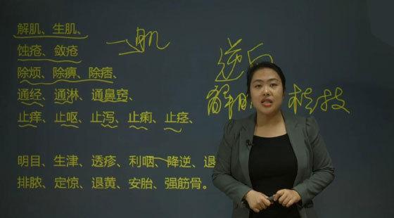 学乐优医考2017年执业中药师保过班-中药学专业知识二